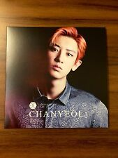 EXO Chanyeol Coming Over Live Venue Japan Limited Edition CD