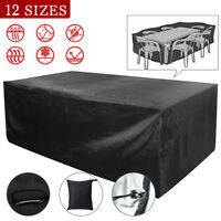 Patio Table/Chair Cover Garden Outdoor Furniture Winter Storage Protection