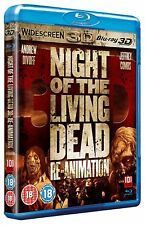 Night of the Living Dead  Re-Animation  3D  Blu Ray   (Brand New )