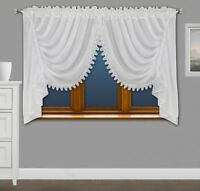 Amazing Voile Net Curtains with Lace Ready Made Living Dining Room Bedroom  New