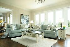 Ashley Daystar Seafoam Sofa and Loveseat Furniture 28200