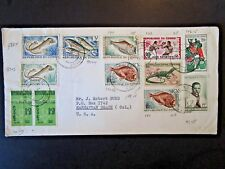French Congo 1962 Cover to USA - Z4864
