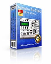 Yamaha RS-7000 Kits/Drum WAV Samples & Sounds Library: digital delivery