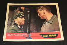 1965 The Train Lobby Card 65/82 #6 Burt Lancaster (C-5)