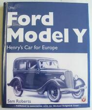 FORD MODEL Y HENRY'S CAR FOR EUROPE Sam Roberts ISBN 1901295885 Car Book