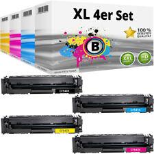 4 XL Toner für HP 203X CF540X LaserJet Pro MFP M254 DW M280 NW M281 FDN M281 FDW