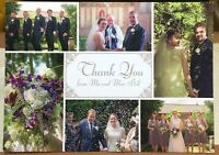 Postcard Social History Wedding scenes - posted