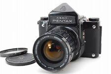N.Mint- Pentax 6x7 Eye Level Mup 67 SMC Takumar 75mm Lens, Filter from Japan#q08