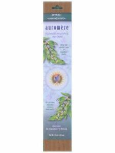 Auromere, Flowers & Spice Incense Myrrh, 10 g, 10 sticks