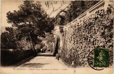 CPA   Beaulieu - Chemin fleuri, Boulevard du Ribert   (514280)