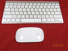Apple Wireless Bluetooth Slim Mini Keyboard A1314 Mac Aluminium iMac with mouse