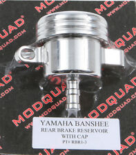 MODQUAD REAR BRAKE RESERVOIR W/CAP (PL AIN) RBR1-3 ATV Yamaha