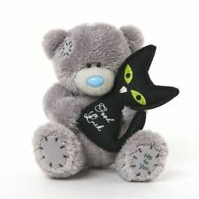 """Me to you 4"""" bonne chance mariage chat noir doux peluche-tatty teddy bear"""