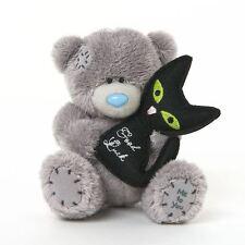 "Me to You 4"" Good Luck Wedding Black Cat Soft Plush - Tatty Teddy Bear"