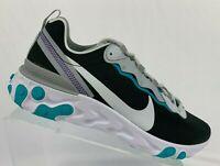 Nike React Element 55 SE - New Men's Running Shoes BV1507 001 Wolf Grey Black