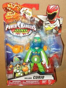 Power Ranger Dino Super Charge Curio Villain Figure MOC Sealed 2015 Bandai