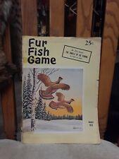 Fur Fish Game January 1958 The thrills of ice fishing