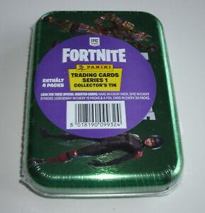 Panini Fortnite Serie 1 Trading Cards - Pocket Tin Box mit 4 Booster - Neu & OVP