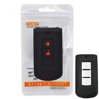 2 Button Silicone Key Case Cover Remote For Mitsubishi L200 ASX Outlander Pajero
