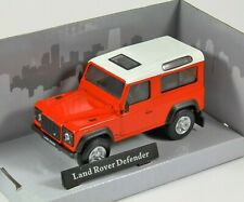 LAND ROVER DEFENDER in Red 1/43 scale model by Cararama
