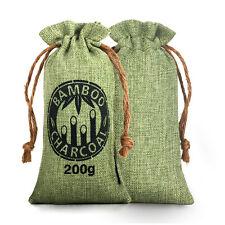 Reusable Air Purifying Bag Bamboo Charcoal Bag Air Freshener Odor Deodorizer