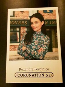 Unsigned Coronation Street Cast Card