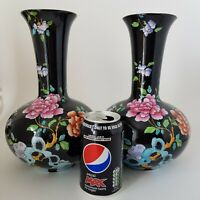 """Pair of Antique Wood & Sons Sheraton Vases 10.1/2"""" tall by Frederick Rhead  :S"""