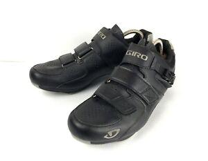 Men's Giro Territory Cycling Bike Shoes Black Size EUR 45 UK 10 US 11