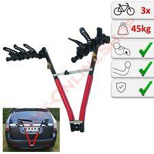 Fahrradträger für die Anhängerkupplung Heckträger 3 Räder - Schnellmontage NOZ