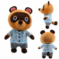 Animal Crossing Tom Nook Plush Raccoon Soft Stuffed Doll Anime Game Toy Gift 11""