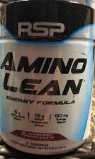 RSP Nutrition  Amino Lean Energy Formula  Blackberry Pomegranate  8.25 oz 11/18+
