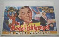 klein,Filmplakat,Plakat,DE MODEL - ECHTGENOOT ,THEO LINGEN,HARALD JUHNKE-7