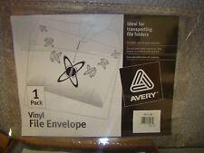 Avery Vinyl File Envelope, TE-11-CR, QTY OF 11