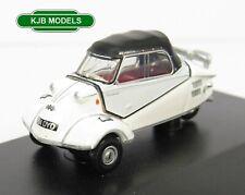 BNIB OO GAUGE OXFORD 1:76 76MBC005 Messerschmitt Bubble Car Polar White