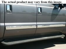 2008-2010 FORD F250 & F350 SUPER DUTY 4 Pc Stainless Steel Body Molding Insert