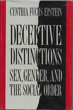 Deceptive Distintions by Cynthia Fuchs Epstein (1987) Yale