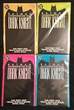 BATMAN - LEGENDS OF THE DARK KNIGHT - 4 DIFFERENT COLORED COVERS - NOV. 1989