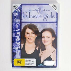Gilmore Girls Season 6 DVD Region 4 AUS TV Series Free Postage - Family Comedy