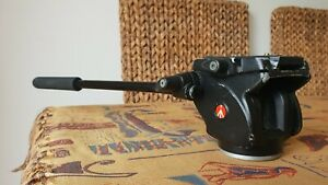 Manfrotto 701HDV Pro Fluid Video Mini Head with Plate & Handle - fully working!!