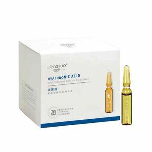 28Pcs Fullerene Hyaluronic Acid Ampoule Face Serum Nicotinamide Whitening Inject