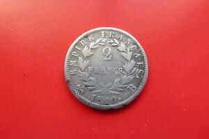 France - 2 Francs 1810 B (Rouen) Napoléon 1er