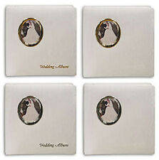 3 Pioneer WF-5781 Oval Framed Wedding Albums Hold 5x7&8x10 Photos -Asst Designs
