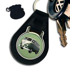 VW CAMPER VAN LEATHER KEYRING / KEYFOB