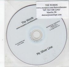 (DS367) The Words, My Silver Line - DJ DVD