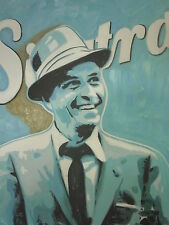 Frank Sinatra 30x20 Pop Art Painting NOT a print or poster Framing Available..