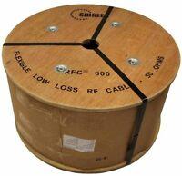 Low Loss 600  500' foot Spool reel RFC600 Cinta600  LMR-600 LMR600 Shireen Times