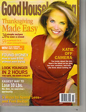 KATIE COURIC Good Housekeeping Magazine 11/06 OFF CAMERA