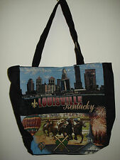New Mill Street Design Tapestry Canvas Tote Bag Louisville Kentucky