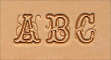 "Craftool 3/4"" Script Alphabet Stamp Set 8139-00 by Tandy Leather"