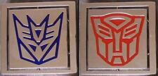 Pewter Belt Buckle Transformers reversable polished NEW